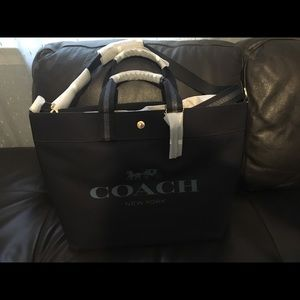 Extra Large Tote With Coach Print
